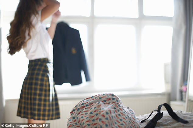 A public school teacher who begged his teenage student for oral sex called her a 'drama queen' after charges were laid against him (stock image)