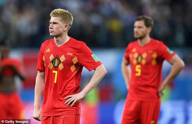 La Belgique est battue en demi-finale par la France, ayant remporté chaque match à zéro jusque-là