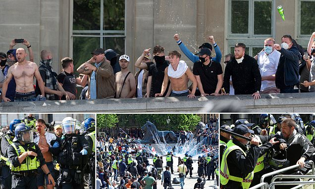 DOUGLAS MURRAY: Anarchy is breaking out - Where are the brakes?