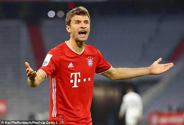 Thomas Muller has been rebuked for questioning the logic of Bayern Munich's transfer stance