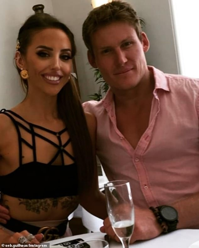 Happy couple:Since meeting on Married At First Sight last year, Elizabeth and Seb recently relocated to Sydney where they are living as a couple