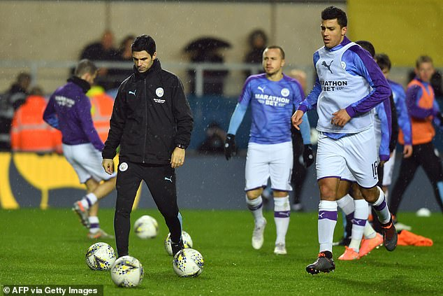 Arteta (left) has worked in close collaboration with Rodri (right) and City hope that the work will bear fruit next year
