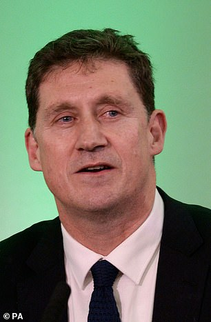 The deal will also put the Green Party - headed by Eamon Ryan (pictured) - at the centre of policymaking