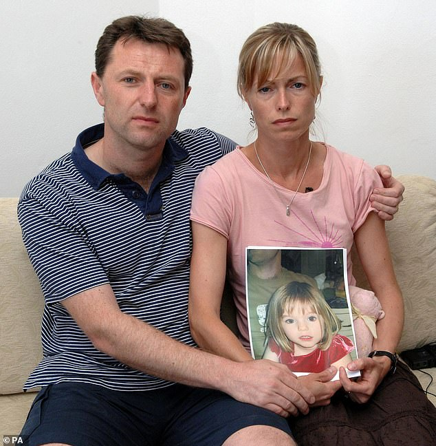 Madeleine was only three years old when she disappeared while on vacation in Praia da Luz in Portugal's Algarve region with her parents Kate and Gerry McCann