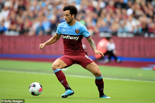 Felipe Anderson had trouble reproducing the form he had shown during the 2018-2019 campaign