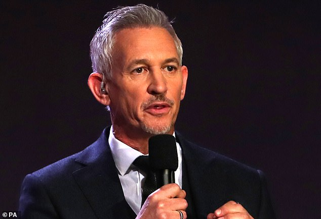 The former English international Gary Lineker was another big name showing his support for Sterling