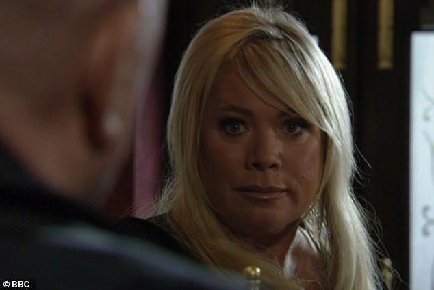 Bombshell: The success of the BBC One series ended with dramatic cliffhanger Sharon Mitchell (Letitia Dean) earlier this month, after missing episodes amid COVID-19 lockdown