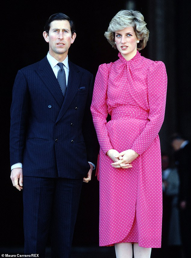 Performance: The troubled marriage of Prince Charles and Princess Diana will be the subject of the new film (photo above in the British royal tour of Sicily in Italy in 1985)