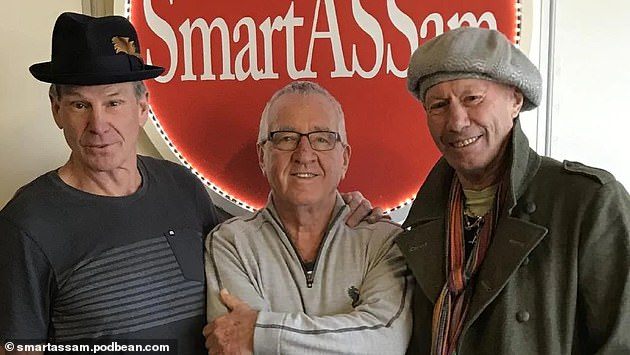 Sam Newman (left), Mike Sheahan (centre) and Don Scott chew the fat in their podcast 'You Cannot Be Serious'