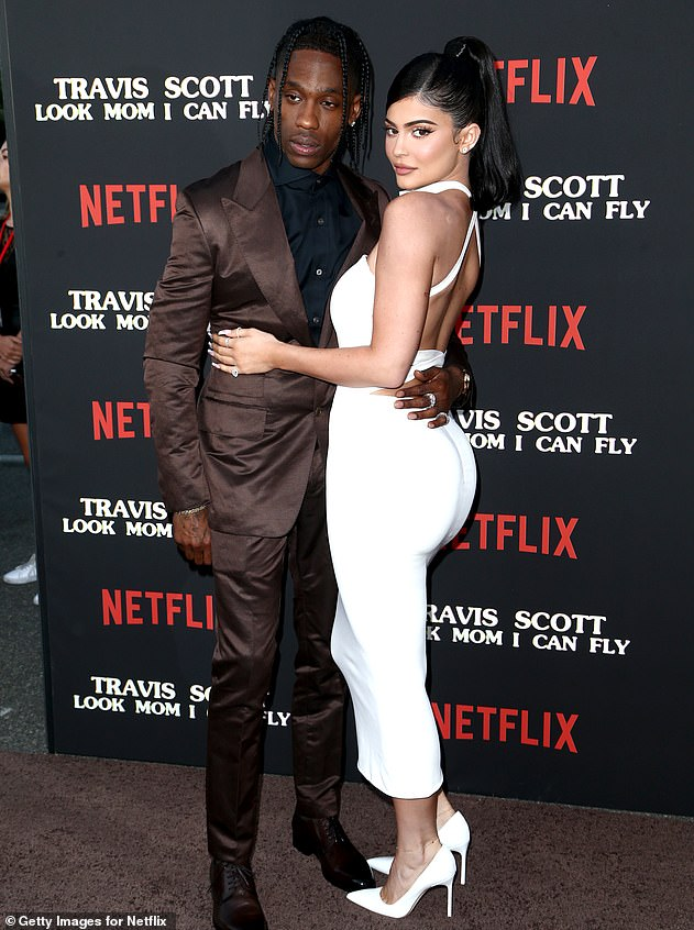 Amicable separation: Kylie and Travis, presented last August in Santa Monica, California, recently publicly praised in interviews and on social networks