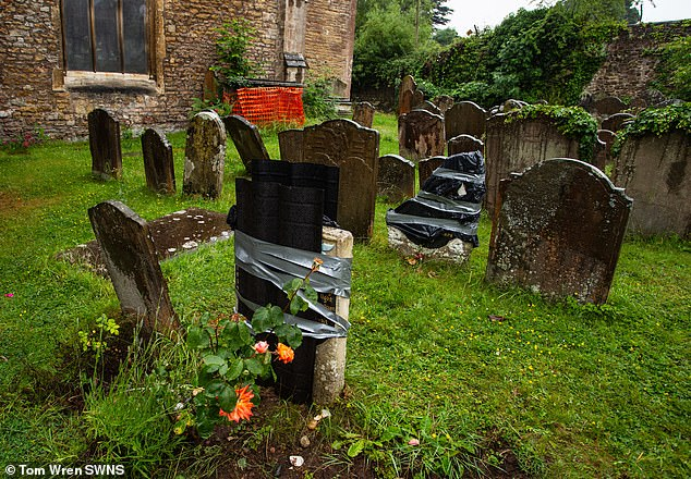 Vandals target the graves of Scipio Africanus in an apparent revenge attack brought about by the overthrow of the statue of the Bristol slave trader Edward Colston