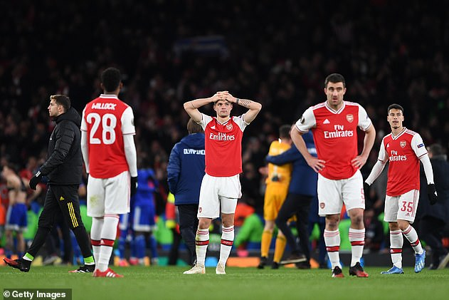 It was a season of frustration at Arsenal with the current ninth team in the Premier League