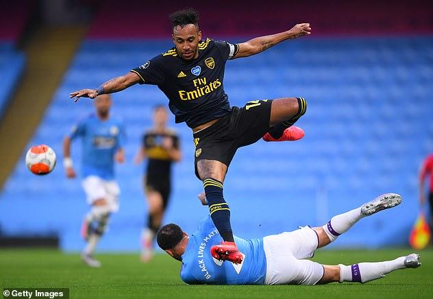 Like Luiz, star striker Pierre-Emerick Aubameyang has not yet resolved his future at Arsenal