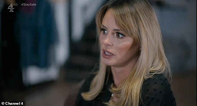 Family: Talking about the scandal on the third page of Channel 4: The naked truth, Rhian started to cry admitting that it always made her