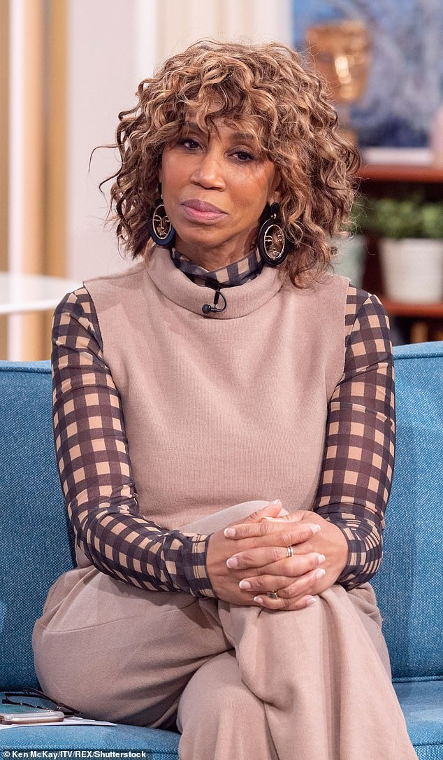 'Just do it': Trisha Goddard has criticized the bosses of the tv day and have only used stars black in roles of ` jokey
