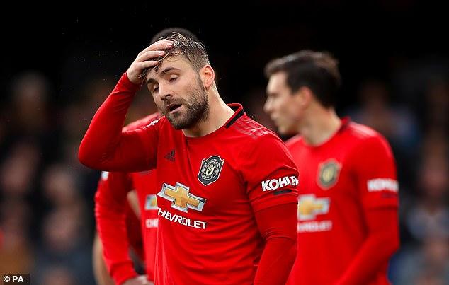 Luke Shaw pourrait être considéré comme l'un des rares points faibles de la formation probable de United pour vendredi