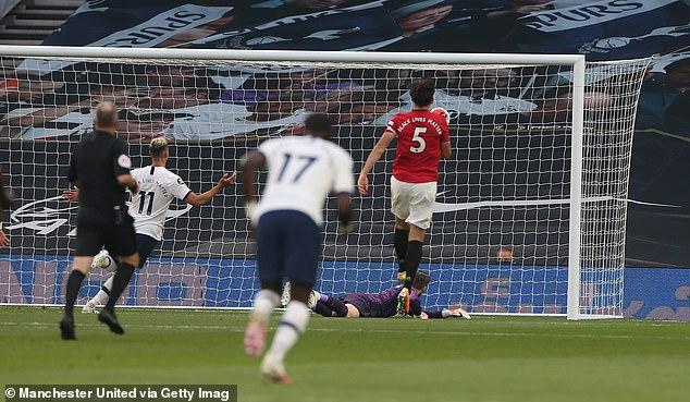 David de Gea fait l'objet de critiques intensifiées après une erreur dans le match nul de Man United à Tottenham
