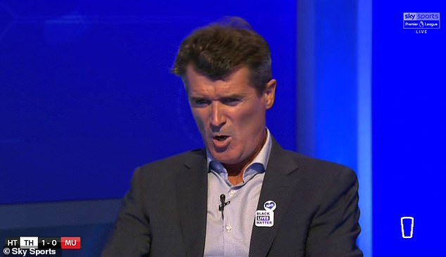 Roy Keane has turned his ire on the Man United players Harry Maguire and David De Gea, on Friday