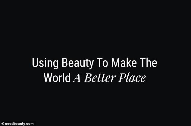 Croissance: selon le site officiel de Seed Beauty, ils se décrivent comme étant la «première destination pour l'accélération et la mise à l'échelle dans l'industrie de la beauté»