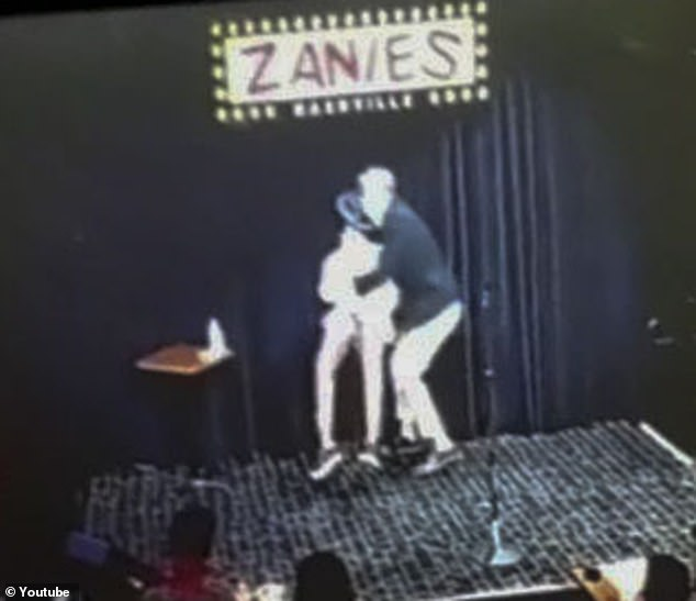 Scary: D. L. fainted on stage at Zanies Comedy Club in Nashville, Tennessee around 11 a.m., this Friday