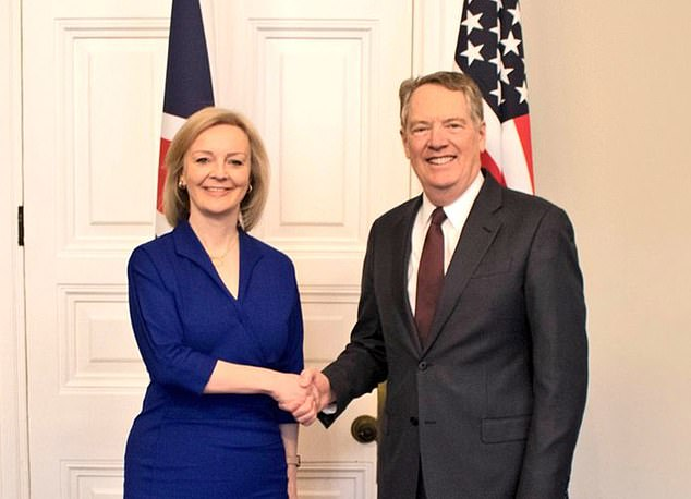 Robert Lighthizer, President Donald Trump's chief negotiator, who is dealing with International Trade Secretary Liz Truss, left no one in any doubt last week about his intransigence