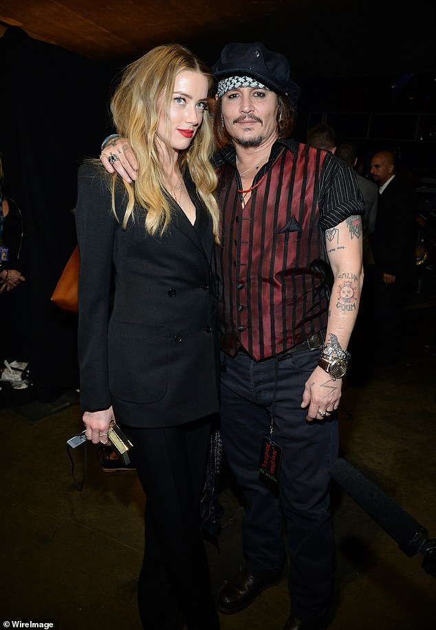 Legal challenge: Depp, with whom she has been married to Hear from 2015 to 2017, continues her for defamation based on a 2018 Washington Post essay, in which she implied that he had abused her, if she did not use her name; photo concert in February 2016