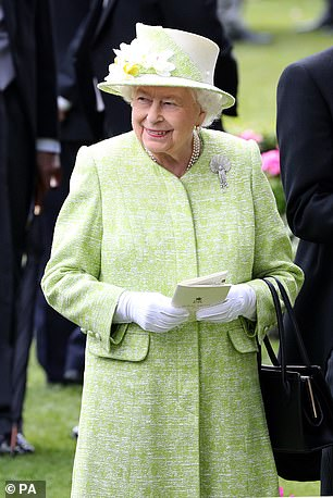 The Queen, pictured at Ascot last year, usually attends all five days of racing