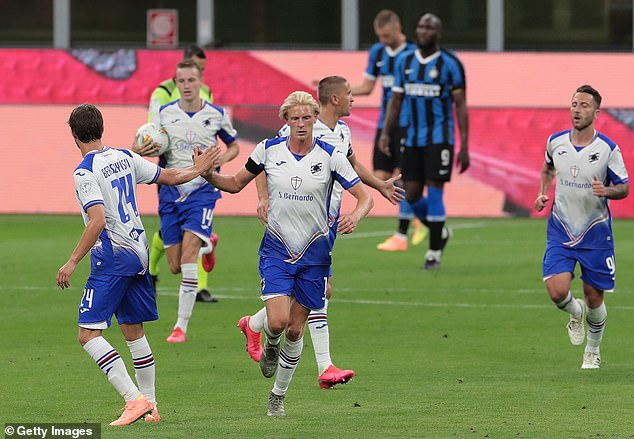 Morten Thorsby sparked an attempted comeback as the visitors pushed for an equaliser