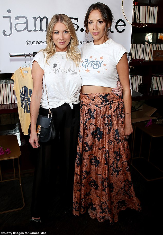 Chop: Stassi Schroeder and Kristen Doubt recently been the axis of Vanderpump Rules after the Faith Stowers revealed that they have falsely reported to the police in 2018 (photo by June 2018)