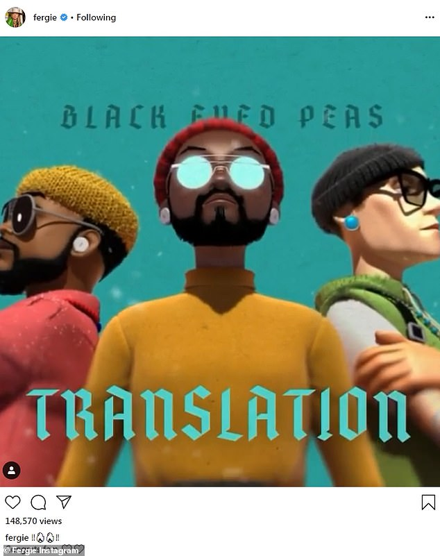 Around the same time: Ferg's former band The Black Eyed Peas were busy continuing to promote their new album Translation ¿ one that Fergie is not a part of