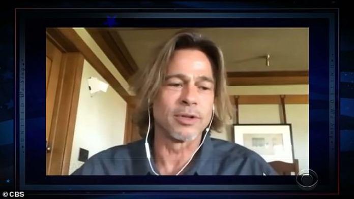Tal amor: saca un iPad, mostrando a Darnell Brad Pitt, ya que Darnell dice que él ama el trabajo que hizo después de Katrina, y Brad dice que él tiene tanto amor por esa ciudad.