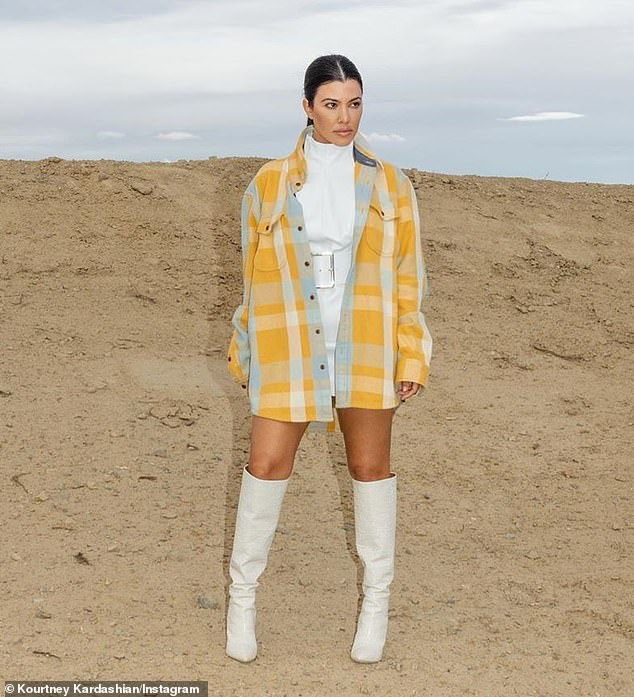 Anything else over there? Kourtney Kardashian, ex Scott Disick left a flirty comment under one of his sizzling Instagrams on Monday
