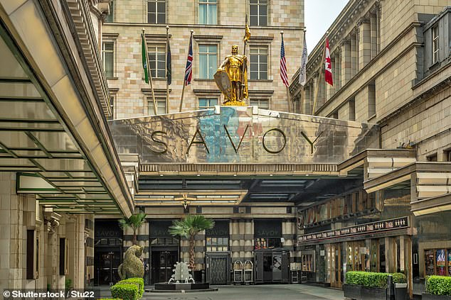 High-end sites, including London's Savoy Hotel, will reopen at a later date, as will airport hotels, the chain says