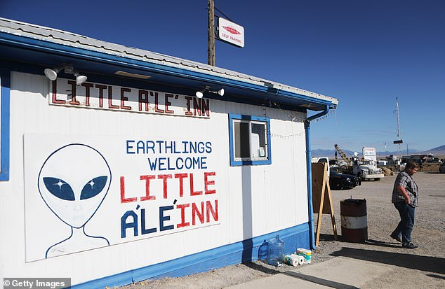 The Little A'le'Inn can be found in the remote town of Rachel, Nevada, on the Extraterrestrial Highway