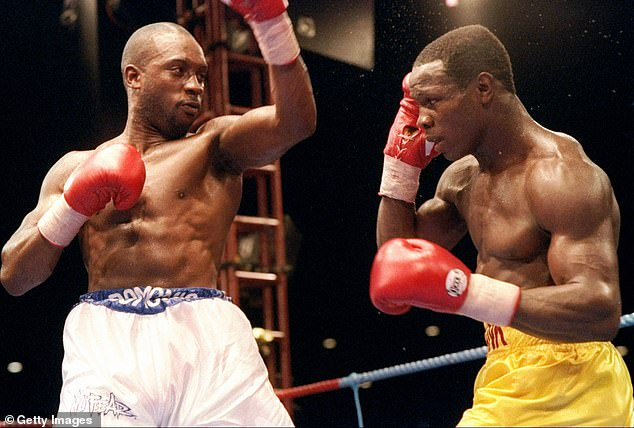 Eubank Sr was involved in one of the most famous boxing rivalries in Britain with Nigel Benn