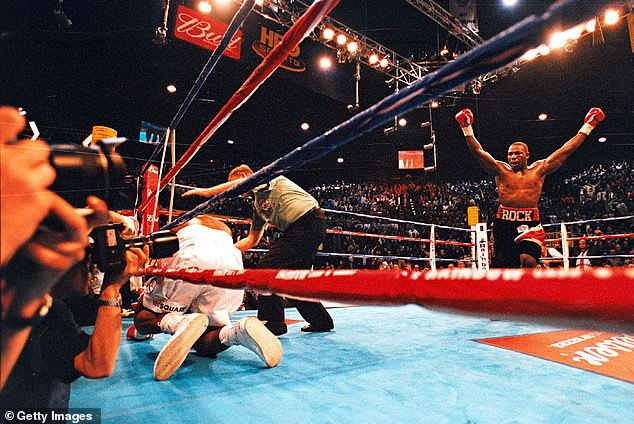 Hasim Rahman wrote his name in the history books when he knocked out Lennox Lewis
