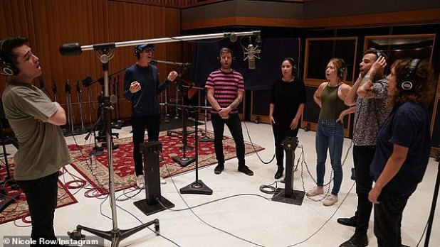 On the Rise: The two-time Grammy nominee (L, pictured on November 9) last used his four-octave tenor tubes for an Into the Unknown belt cover for the Frozen 2 soundtrack in November afterward. to debut with Taylor Swift on Me.