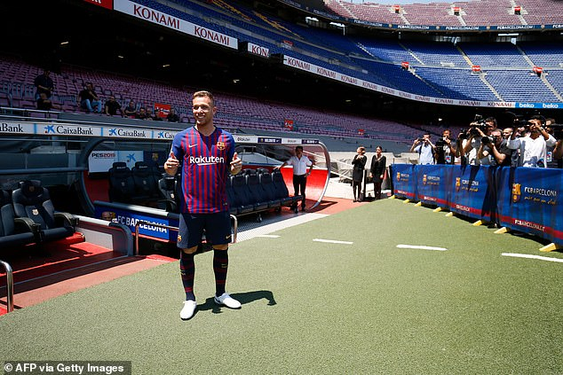 He still has a huge future but it will not be at Barcelona after his switch to Juve was announced
