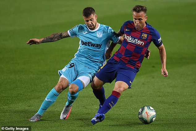 Arthur needs time to develop and grow but is only 23 and plays regularly for the champions