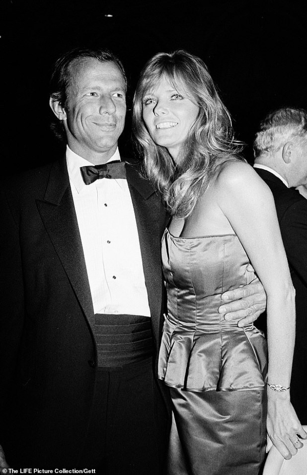 Flashback: He married actress PJ Soles on November 25, 1978 when he was 24 and she was 28, but the duo divorced in early 1983;  PJ Soles photographed with a friend in 1981