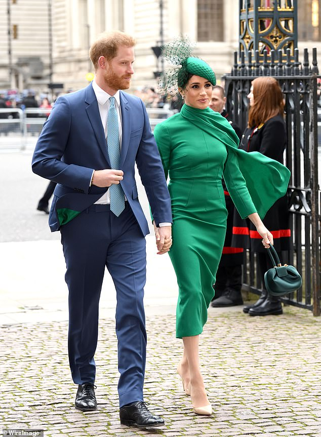 The rumors that the duke and duchess of Sussex, photographed on the day of the Commonwealth this year, could soon be resigned to royal life after their struggles in the spotlight have begun to circulate in the last year