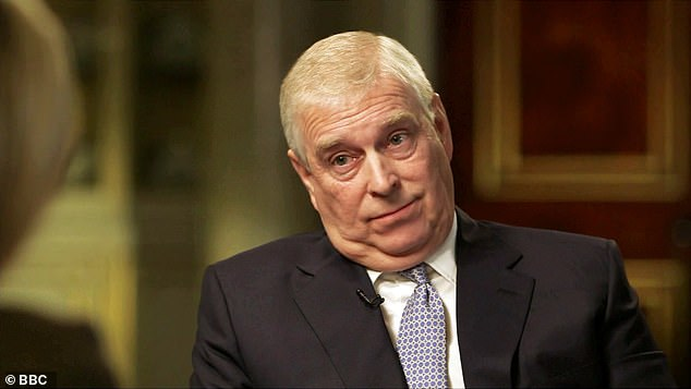 In November of last year, the duke of York, aged 60, has filmed the interview ` car accident