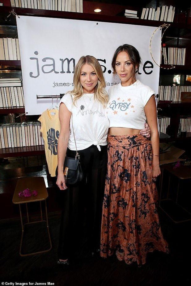 Dismissed: Stassi and Kristen, who were among the show's biggest stars, were fired after former cast member Faith Stowers, who is Black, revealed that she was falsely accused of a crime by police (in the photo of 2018)