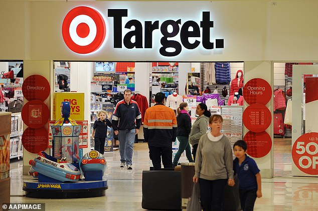 Target (pictured) will offer firefighters, police and health workers 15 per cent off storewide to celebrate First Responders Day