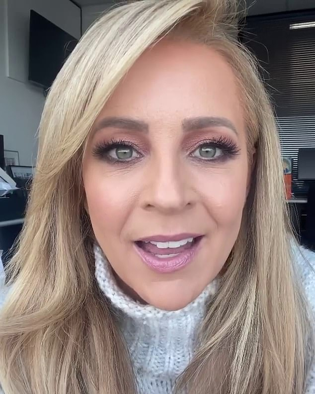 A good cause: Last month, Carrie shared a video with fans and said that 'corona gave us some unique challenges this year, but we are so relieved to have found a way to get our beanies on your beautiful heads'