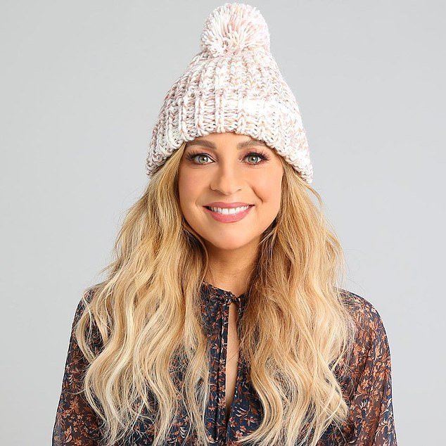 'Our beanies are back!' Carrie Bickmore announced a new range of beanies for her brain cancer foundation on Wednesday... after losing late husband Greg Lange to the disease