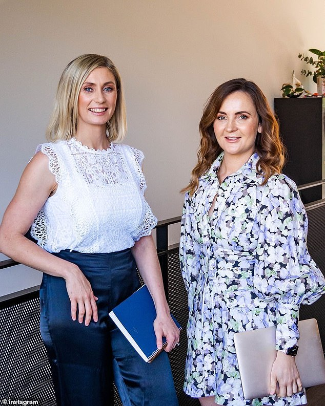 Dietitians revealed how alcohol affects your sleep, and why even one glass of wine can have a disastrous impact on your liver and brain (Chloe McLeod and Jessica Spendlove pictured)