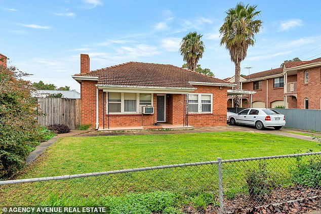 In Adelaide, paying off a loan at Oaklands Park, 13km south-west of the city, is 60 per cent cheaper. Mortgage repayments for a three-bedroom house worth $490,000 are $196 compared with $485 a week for rent, in a suburb near the beach with a mid-point price of $497,000