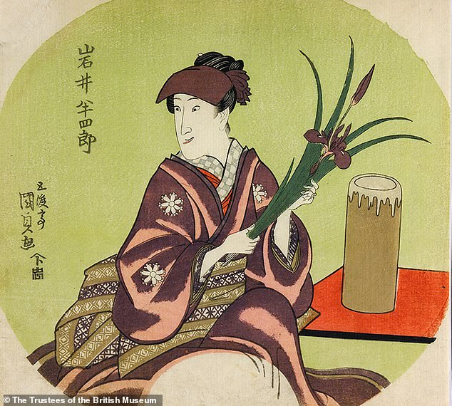 An example of a Japanese wood block print depicting wakashu – male youths – who were desired both by men and women and who, with their androgynous appearance, constituted a 'third gender' is also going on show and the prints will change regularly