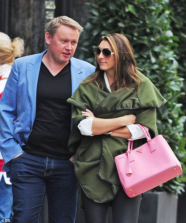 Matched! Luisa and Andrew first laid eyes on each other when the Irish millionaire bid on her at a charity auction, where they raised over £3,000 for charity (pictured in 2015)